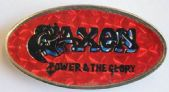 Saxon - 'Power & the Glory' Prismatic Lapel Badge